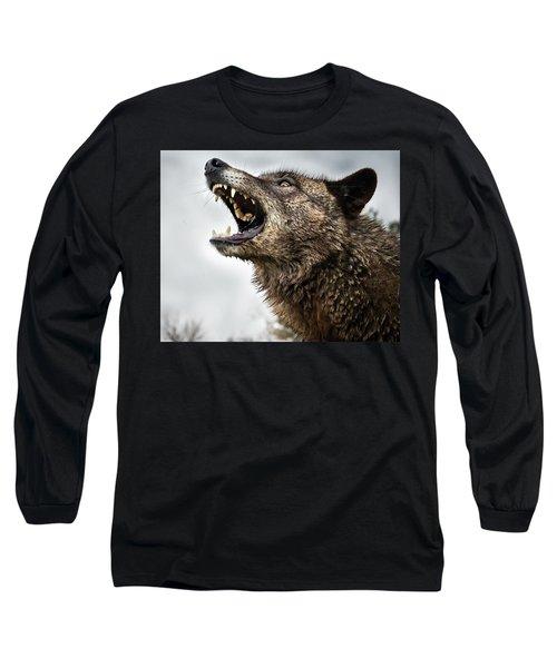 Woof Wolf Long Sleeve T-Shirt