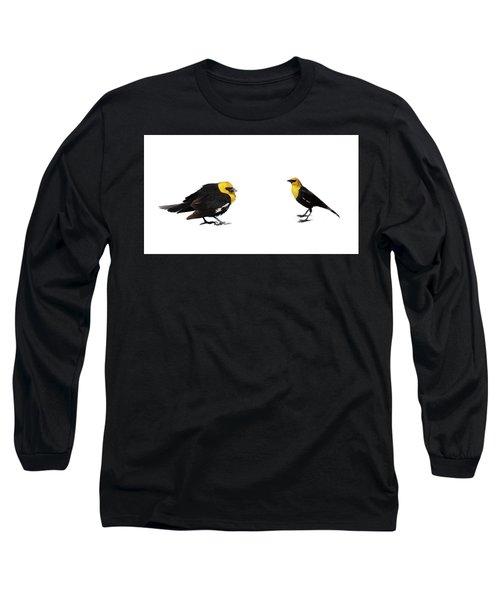 Yellow Headed Blackbird  Long Sleeve T-Shirt