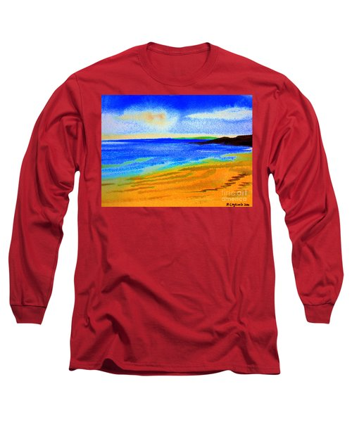 2 Australian Beach In The Morning Near Cottesloe Long Sleeve T-Shirt