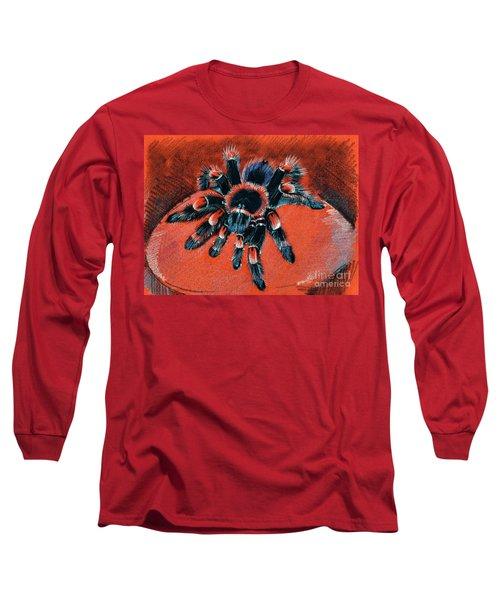 Brachypelma Smithi Redknee Tarantula  Long Sleeve T-Shirt