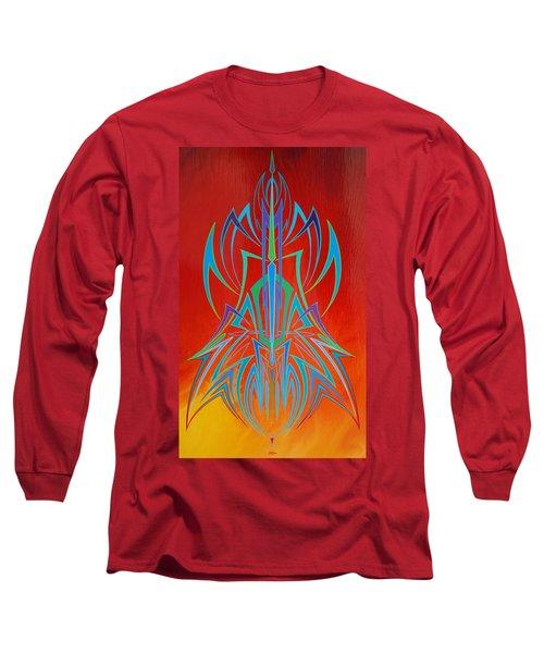 Desert Fire Storm Long Sleeve T-Shirt