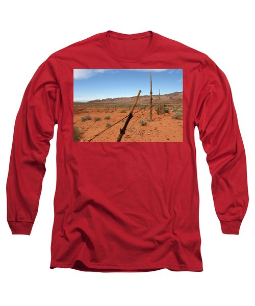 Long Sleeve T-Shirt featuring the photograph  Don't Fence Me In by Tammy Espino