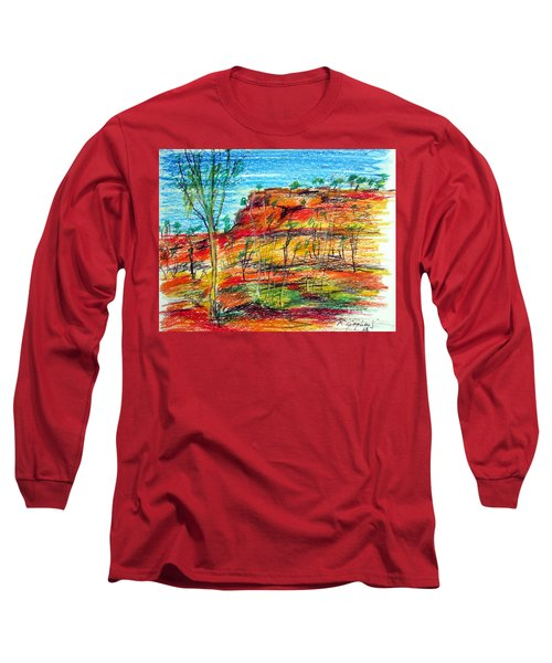 Kimberly Bold Cliffs Australia Nt Long Sleeve T-Shirt