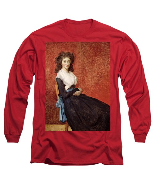 Portrait Of Madame Charles-louis Trudaine Long Sleeve T-Shirt