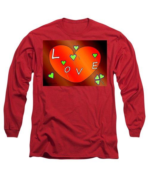Simple  Love  Heart  - 505  Long Sleeve T-Shirt