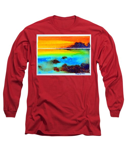 Western Australia Ocean Sunset Long Sleeve T-Shirt