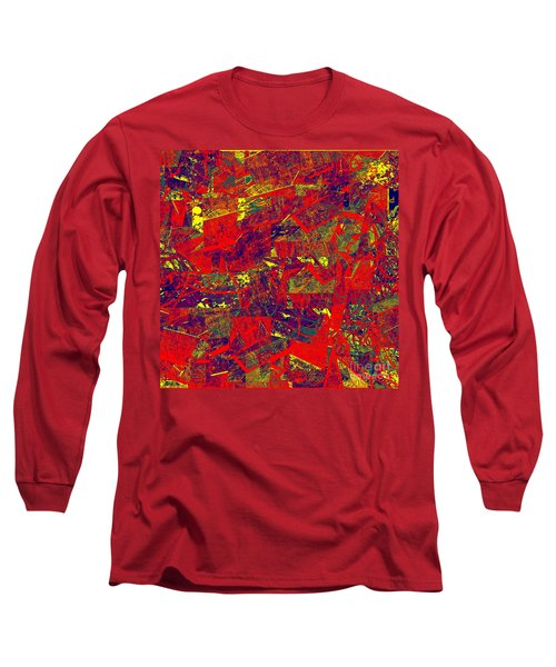 0384 Abstract Thought Long Sleeve T-Shirt