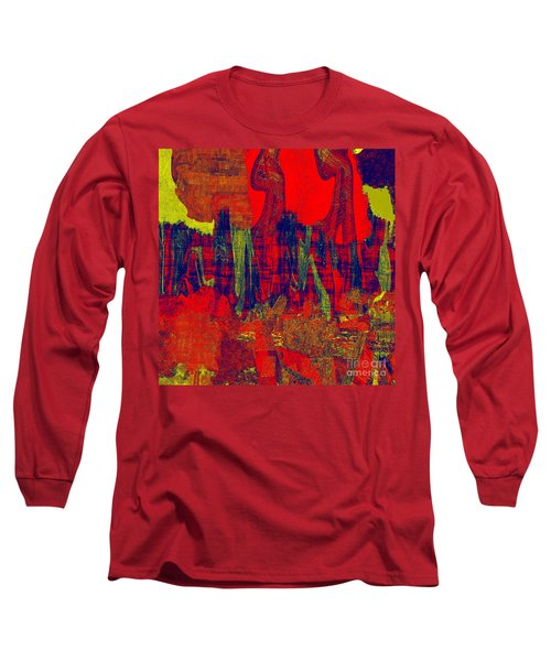 0486 Abstract Thought Long Sleeve T-Shirt