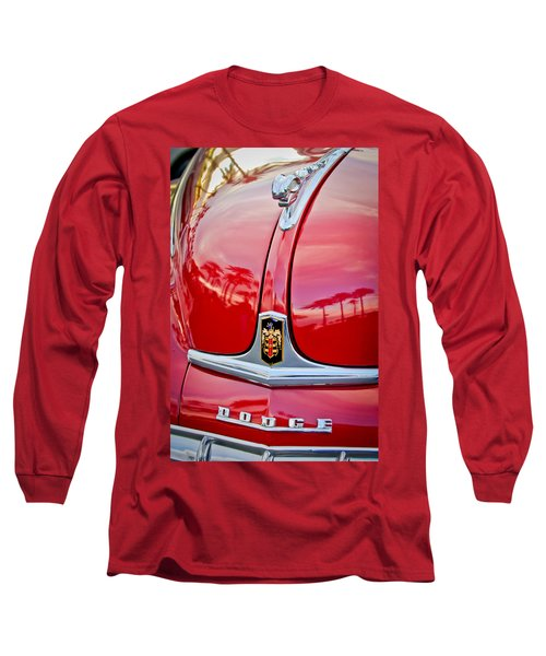 1948 Dodge Ram Hood Ornament Long Sleeve T-Shirt