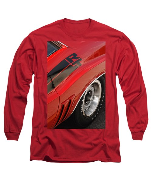 1970 Dodge Challenger R/t Long Sleeve T-Shirt by Gordon Dean II