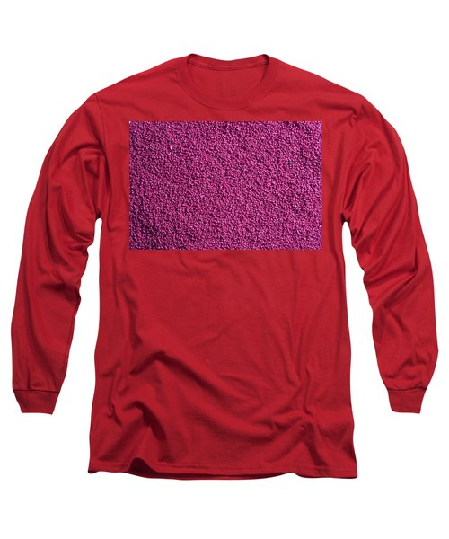 Abstract Texture - Purple Long Sleeve T-Shirt