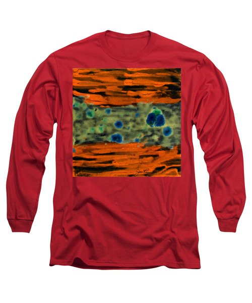 Long Sleeve T-Shirt featuring the painting Autumn Breeze by Joan Reese