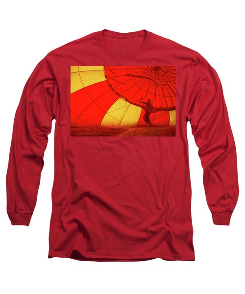Long Sleeve T-Shirt featuring the photograph Balloon Fantasy 2 by Allen Beatty