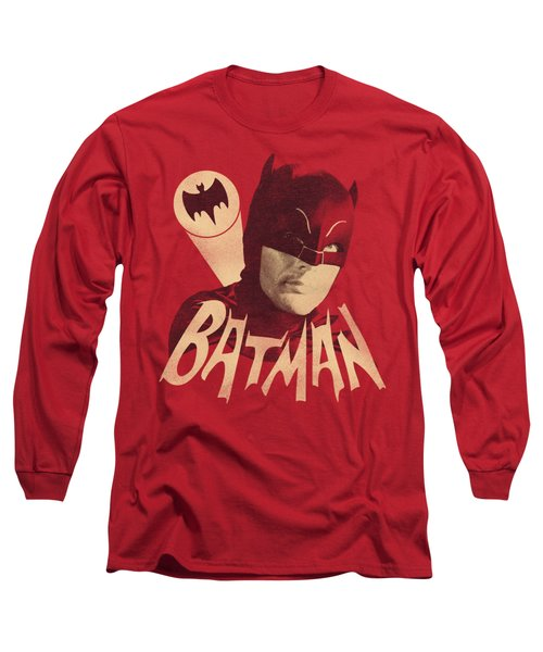 Batman Classic Tv - Bat Signal Long Sleeve T-Shirt