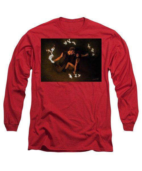 Burning Passion Long Sleeve T-Shirt