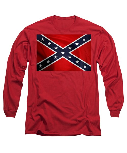 Confederate Flag 5 Long Sleeve T-Shirt