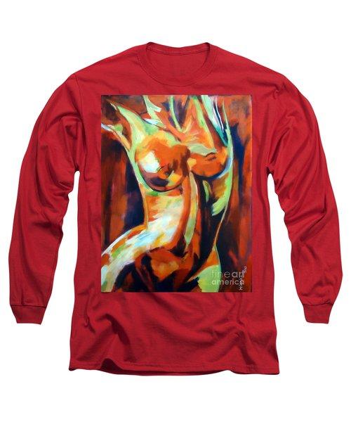 Exhilaration Long Sleeve T-Shirt by Helena Wierzbicki