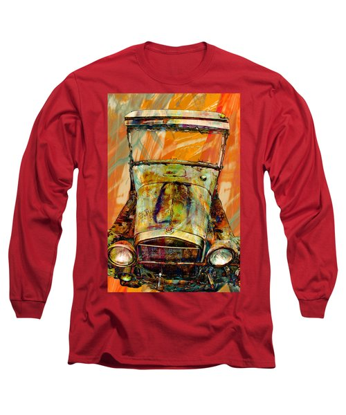 Vintage Long Sleeve T-Shirt featuring the photograph Ghost Of 1929 by Aaron Berg
