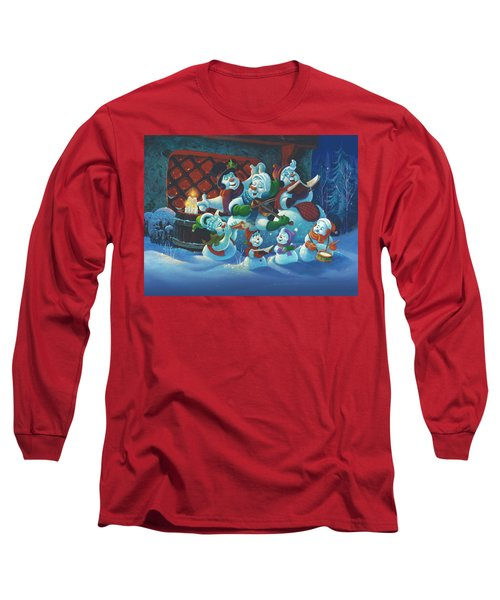 Joy To The World Long Sleeve T-Shirt by Michael Humphries