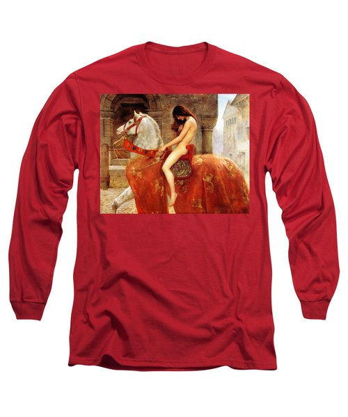 Lady Godiva Long Sleeve T-Shirt