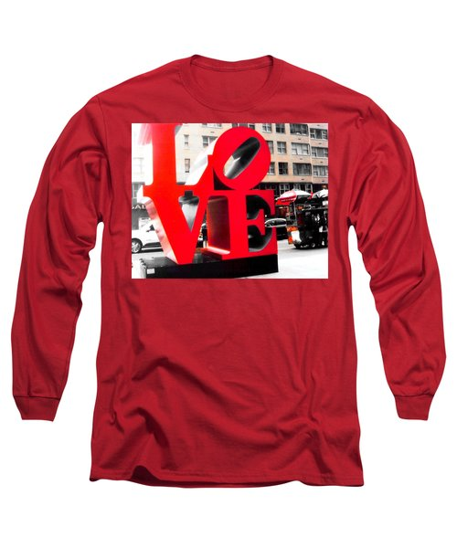 Love Long Sleeve T-Shirt by J Anthony