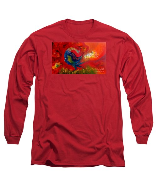 Love Long Sleeve T-Shirt by Sanjay Punekar