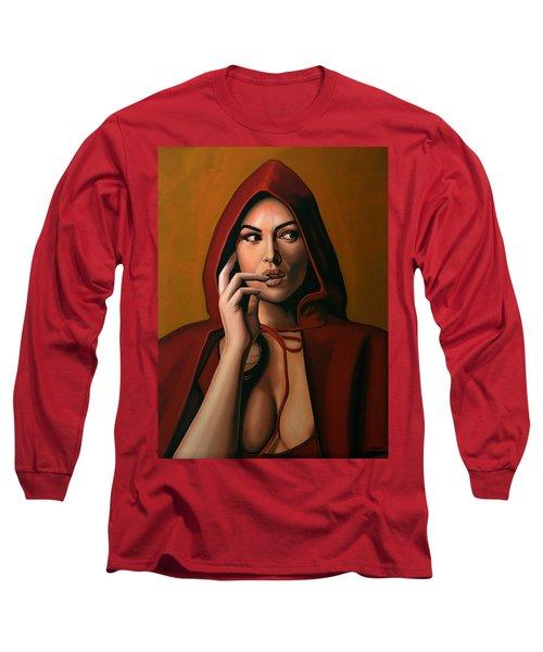Monica Bellucci Long Sleeve T-Shirt
