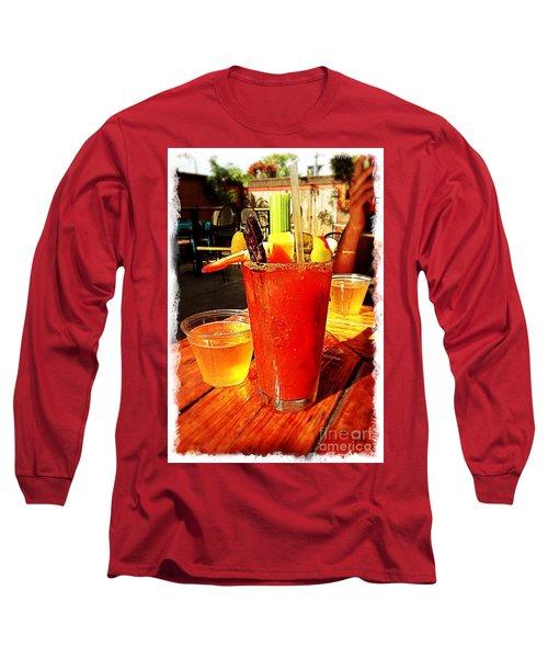 Morning Bloody Long Sleeve T-Shirt