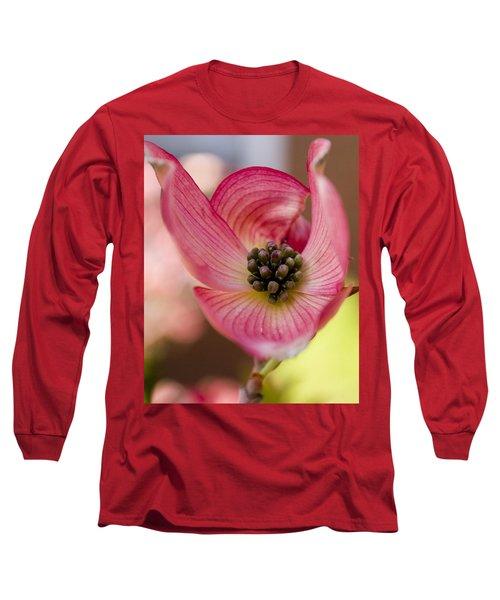 Pink Dogwood Long Sleeve T-Shirt