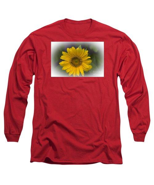 Sunflower Vr. 'dwarf Sunspot ' Long Sleeve T-Shirt