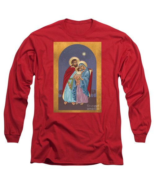 The Holy Family For The Holy Family Hospital Of Bethlehem 272 Long Sleeve T-Shirt by William Hart McNichols