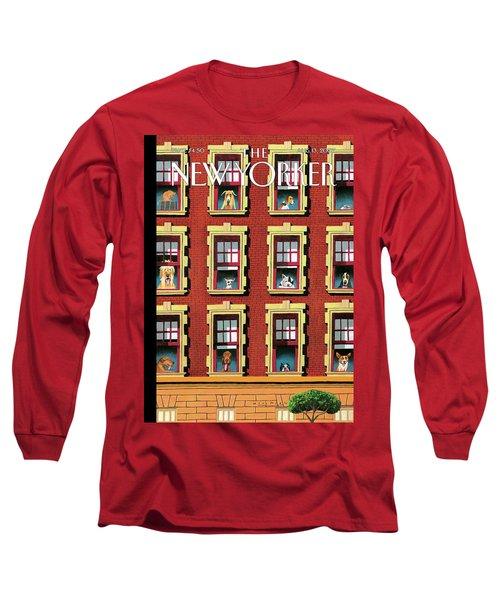 Hot Dogs Long Sleeve T-Shirt