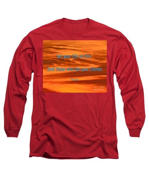 120- Rumi Long Sleeve T-Shirt by Joseph Keane