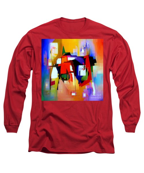 Abstract Series Iv Long Sleeve T-Shirt