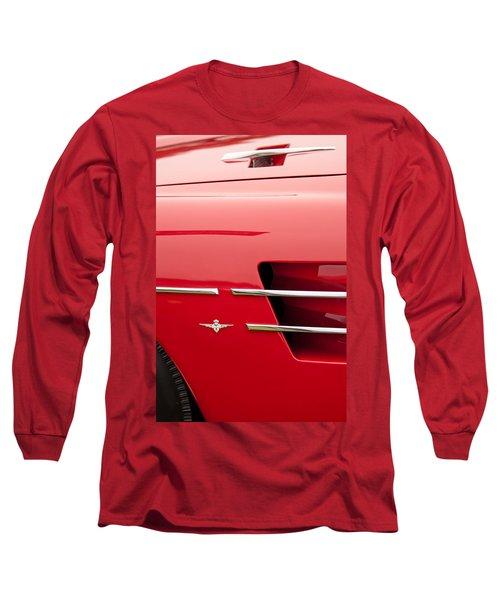 1958 Pegaso Z-103 Touring Berlinetta Side Emblem -1195c Long Sleeve T-Shirt