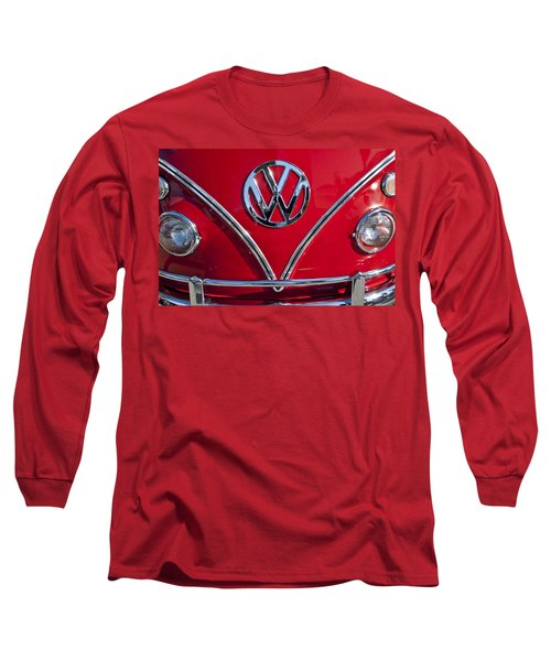 1964 Volkswagen Vw Double Cab Emblem Long Sleeve T-Shirt