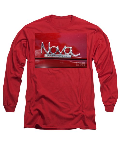 1970 Chevy Nova Logo Long Sleeve T-Shirt
