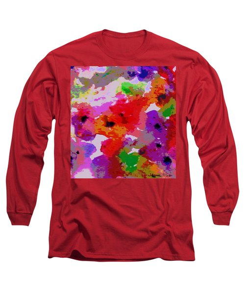 Long Sleeve T-Shirt featuring the painting A Little Watercolor by Jamie Frier