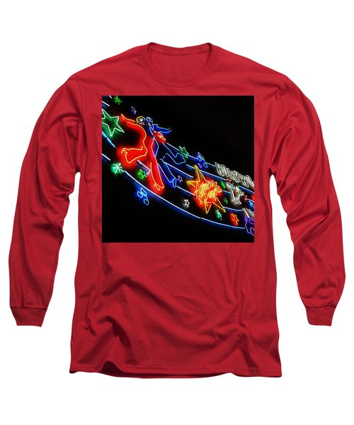 Long Sleeve T-Shirt featuring the photograph Astaire And Rogers by Jean Goodwin Brooks