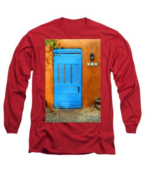 Blue Door In Santa Fe Long Sleeve T-Shirt
