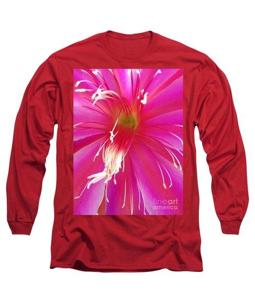 Cactus Flower Long Sleeve T-Shirt
