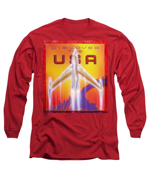 Discover The Usa Long Sleeve T-Shirt