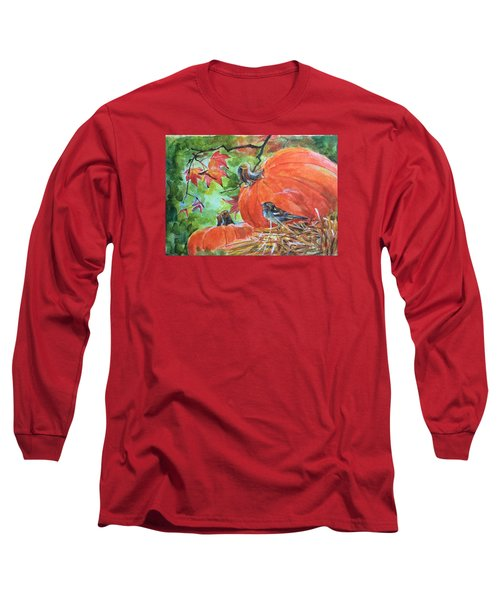 Fall Is Here Long Sleeve T-Shirt