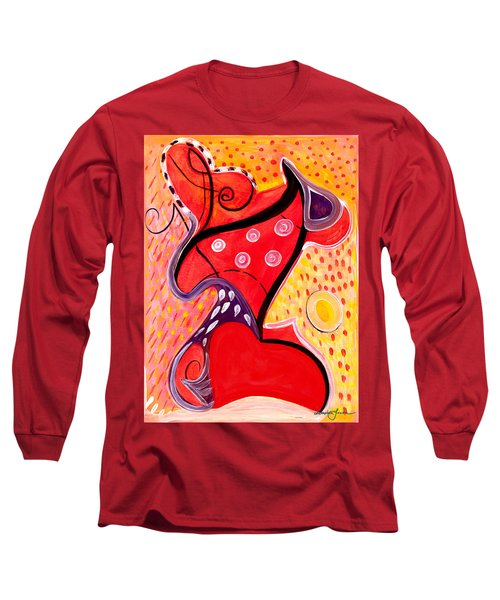 Heart And Soul Long Sleeve T-Shirt by Stephen Lucas