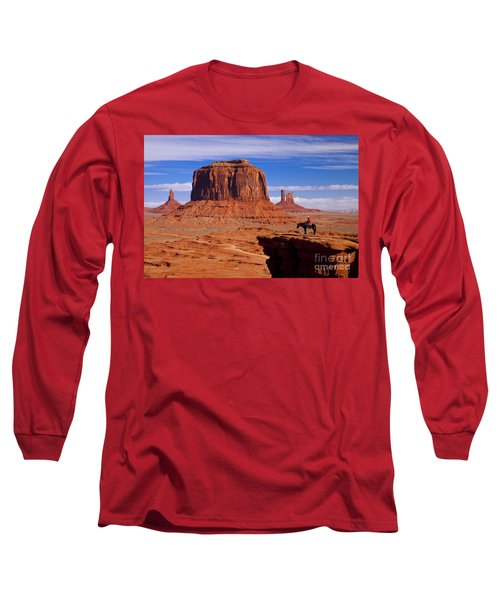 John Ford Point Monument Valley Long Sleeve T-Shirt