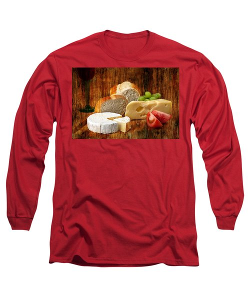 Norwegian Jarlsberg And Camembert Long Sleeve T-Shirt