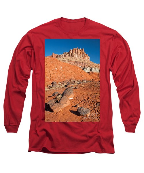The Castle Capitol Reef National Park Long Sleeve T-Shirt