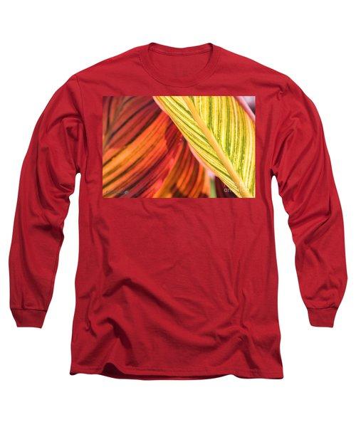 Canna Lily Named Durban Long Sleeve T-Shirt