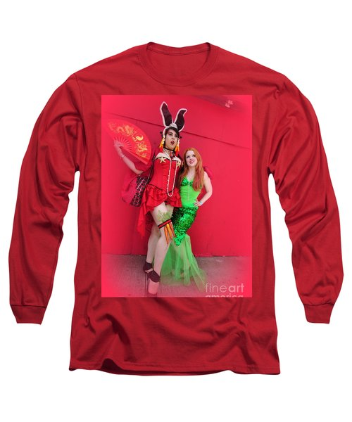 Mermaid Parade 2011 Long Sleeve T-Shirt
