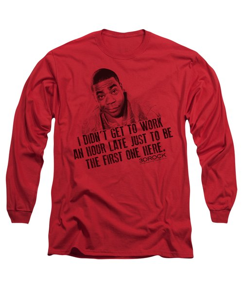 30 Rock - Get To Work Long Sleeve T-Shirt by Brand A